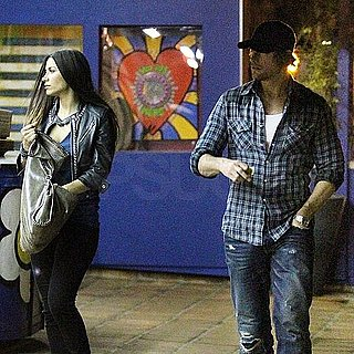 Pictures of Gabriel Aubry on a Date With a Kim Kardashian Look-Alike