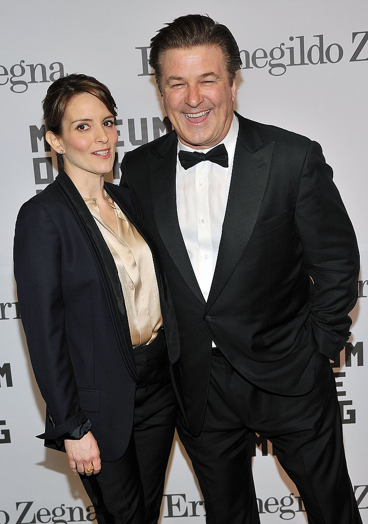 Pictures of Tina Fey and Alec Baldwin at  T Museum of the Moving Image Salute