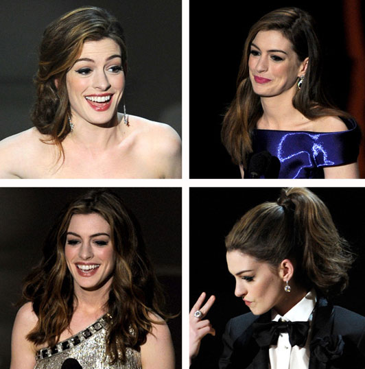2011 Oscars Hair: Get All 7 of Anne Hathaway's Hot Hairstyles!