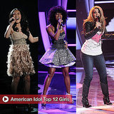 American Idol Top 12 Girls Perform