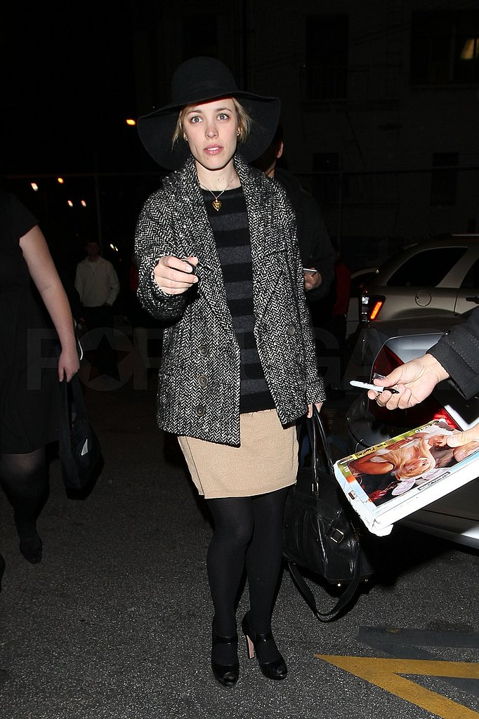 Rachel McAdams Has a Night Out Without Her Main Man Michael Sheen