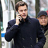 Pictures of Joshua Jackson on the Vancouver Set of Fringe