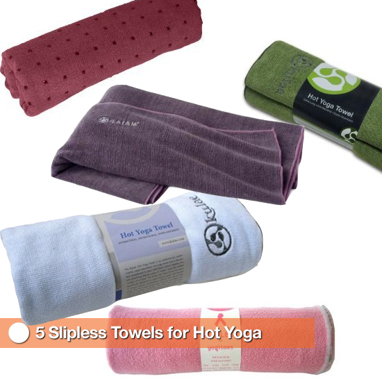 5 Slipless Towels For Hot Yoga