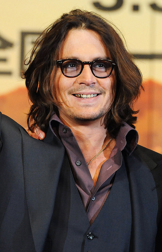 Johnny Depp Brings The Tourist to Japan Without Leading Lady Angelina