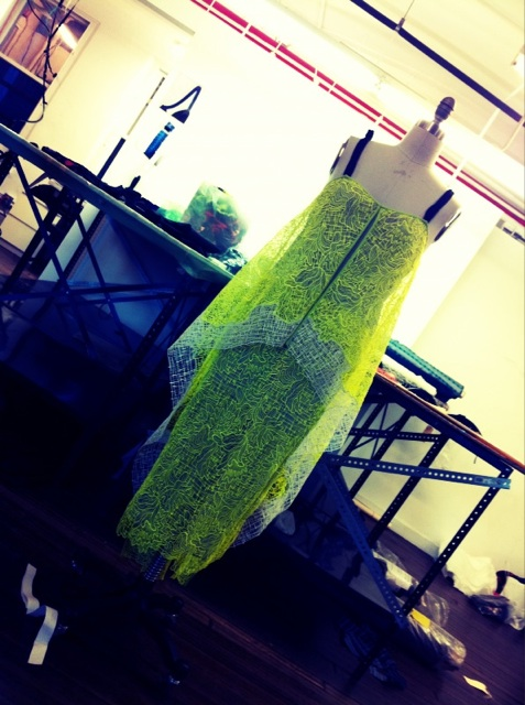 Proenza Schouler gives us a glimpse of some new pieces! Twitpic User: proenzaschouler