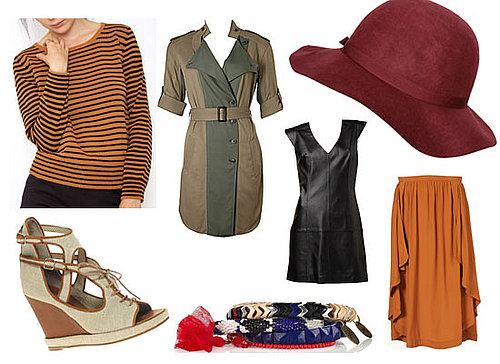 March Must Have Buys: Shop New Season Looks Online Here! Leather, Calf Length Skirts, Trenches and Hats