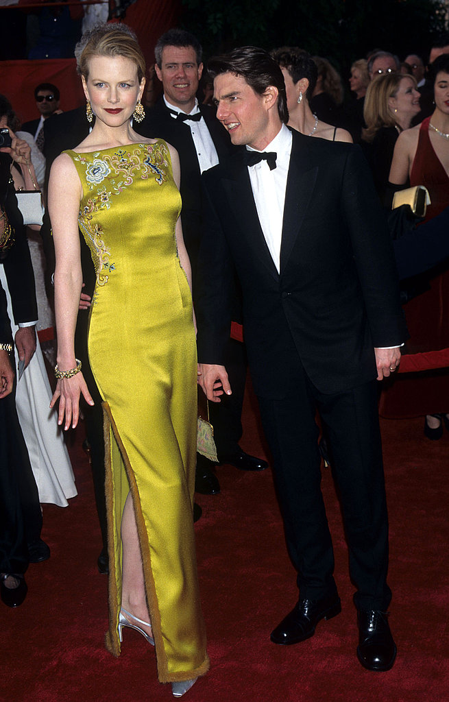 Nicole Kidman in Dior couture at the 1997 Oscars