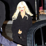 Christina Aguilera Makes a Smashing Post-Arrest Appearance