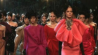 Lanvin Autumn Winter 2011 Runway Show Paris Fashion Week