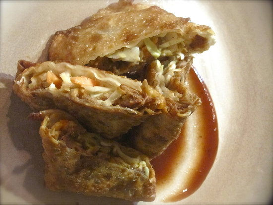 BBQ Pulled Pork Egg Rolls