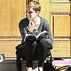 Emma Watson Leaving Brown 2011-03-07 12:41:00