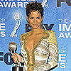 Pictures of Halle Berry at the NAACP Awards and Riding a Motorcycle With Olivier Martinez in LA