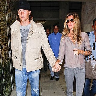 Pictures of Tom Brady and Gisele Bundchen in Rio For Carnival