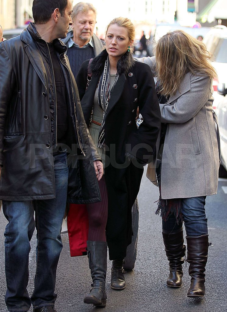 Blake Shops Chanel With Her Mom, Dad, and Christian Louboutin