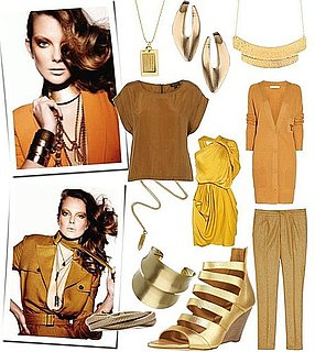 Trend Alert: Layering Lots of Gold For a Sun-kissed Look