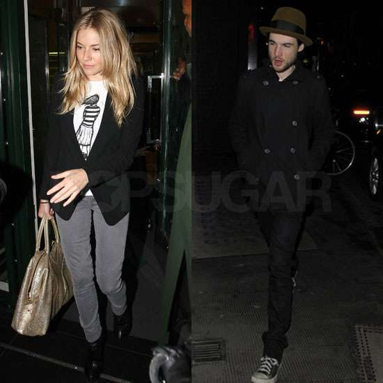 Pictures of Sienna Miller Meet Tom Sturridge at the Ivy After Flare Path