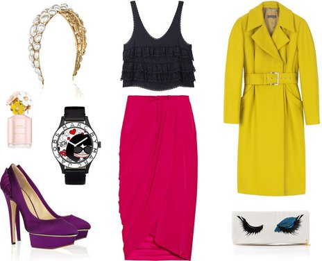 Fab Stylist of the Week: Mixing Bold Colors