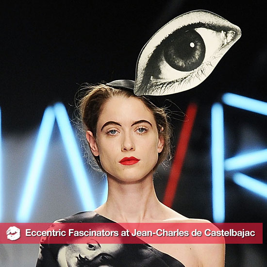 Eyeballs and Spiders and Smokes, Oh My! Jean-Charles de Castelbajac's Eccentric Fascinators