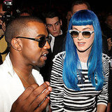 Pictures of Katy Perry and Kanye West at the Jean-Charles de Castelbajac Runway Show in Paris 2011-03-09 01:02:43