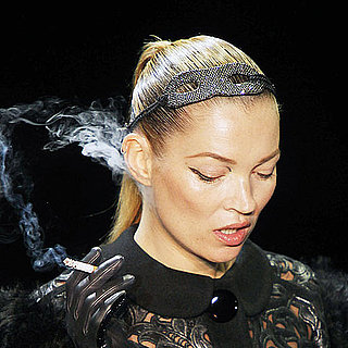 Pictures of Kate Moss's Runway Return at Louis Vuitton