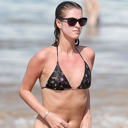 Nicky Hilton soaked up the sun in Maui in December 2010.