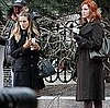 Pictures of Sarah Jessica Parker and Christina Hendricks on the Set of I Don&#039;t Know How She Does It in Boston 2011-03-09 15:18:05