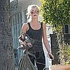 Pictures of Julianne Hough Leaving Tracy Anderson's Gym in LA