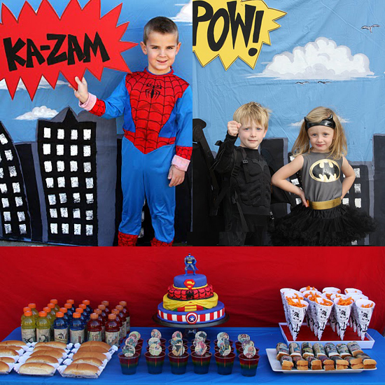 Vintage Superhero Party