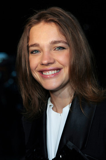 Natalie Vodianova at Louis Vuitton.