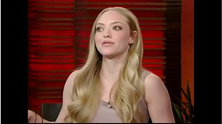 "Amanda Seyfried on the ""Amazing"" Colin Firth and ""Alright"" Justin Timberlake"
