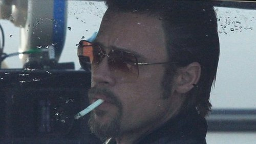 Video: Brad Pitt on the Set of Cogan's Trade in New Orleans