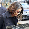 Pictures of Mila Kunis in Paris