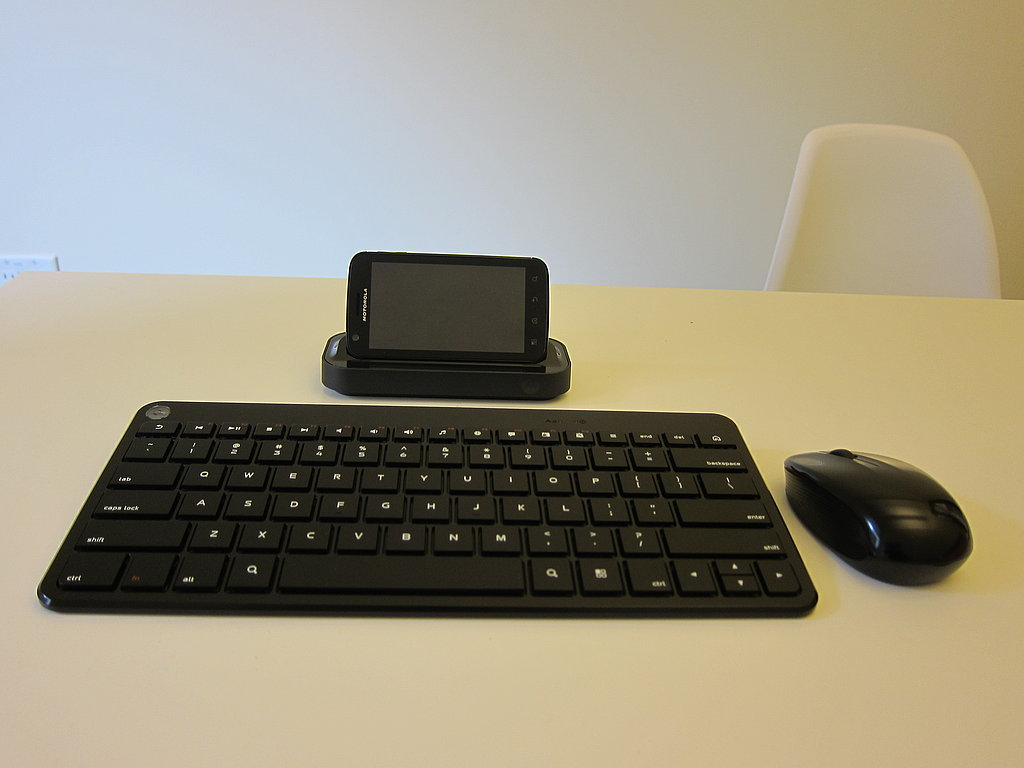 Photos of Motorola Atrix TV Dock and Accessories