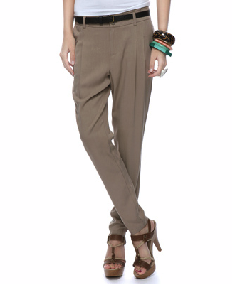 Ideal for work or play when paired with bright flats and a tee. Forever 21 Day Trousers, ($25)