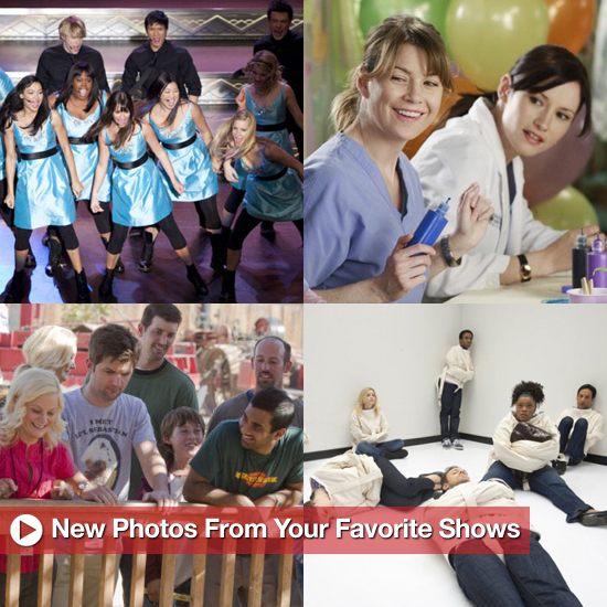 Pictures From 30 Rock, Grey's Anatomy, and Glee