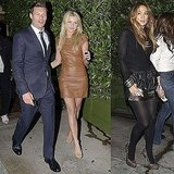 Pictures of Ryan Seacrest, Randy Jackson, Julianne Hough, Jennifer Lopez, and More at Dinner in LA