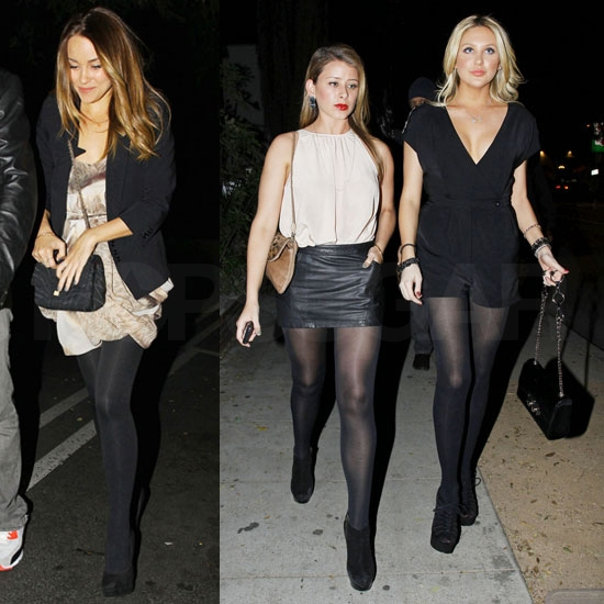 Lauren Conrad Has a Hill of a Night With Stephanie, Lo, and Frankie