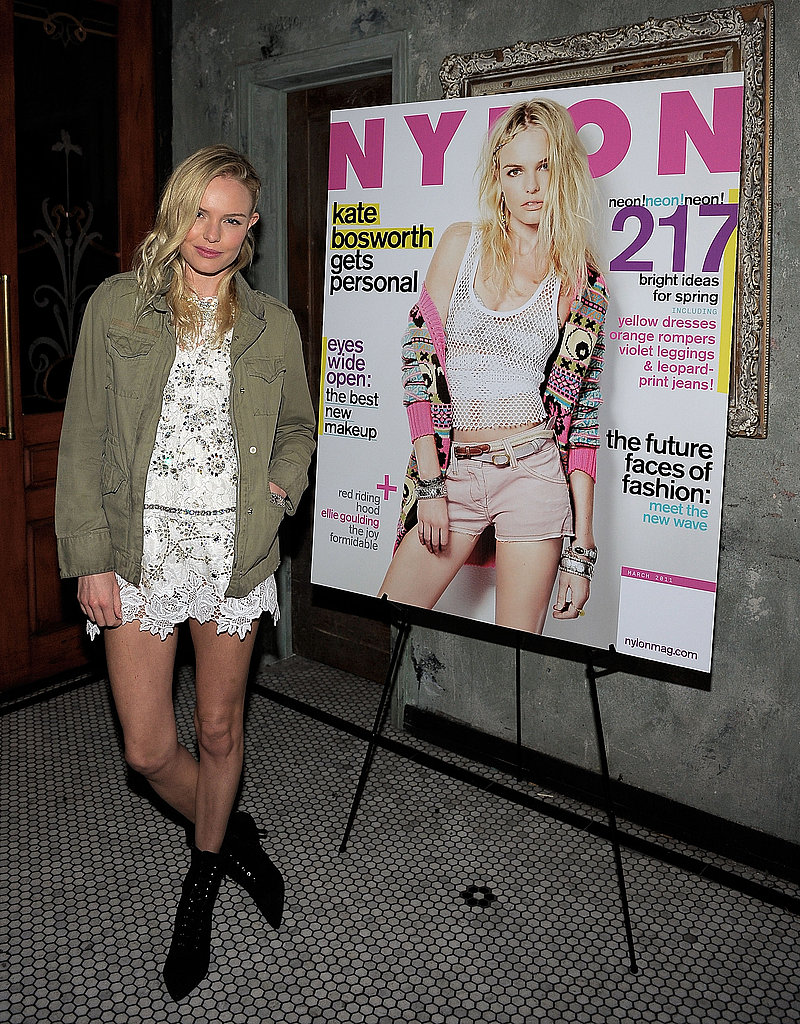 Kate Bosworth Celebrates Her Nylon Cover With Alexander Skarsgard
