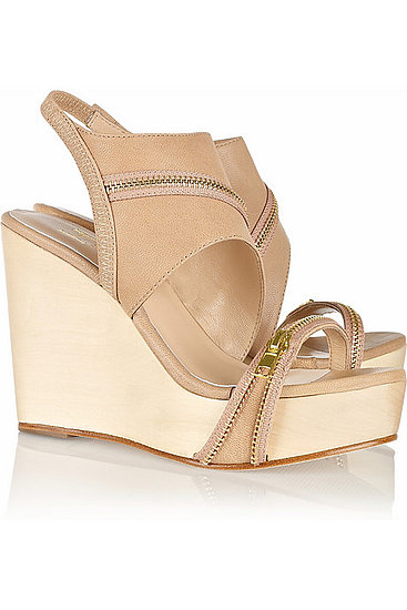 Perfect with shorts or a Summer dress. Halston Heritage Abby Zip Wedge ($265)