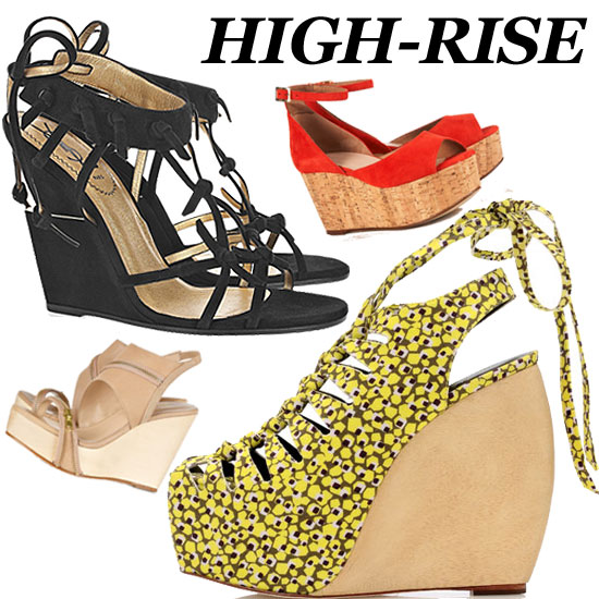 Peep Our Top Ten Wedge Sandals For Spring!