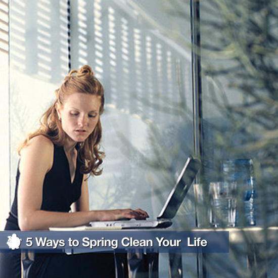 5 Ways to Spring Clean Your Personal and Professional Life
