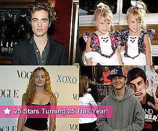 Photos of Celebrities Turning 25 in 2011 Including Robert Pattinson, Lea Michele, Olsen Twins, Shia LaBeouf