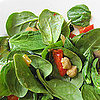 Moroccan Chickpea and Spinach Salad