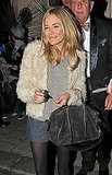 Sienna Miller Celebrates Her Rave Theater Reviews!