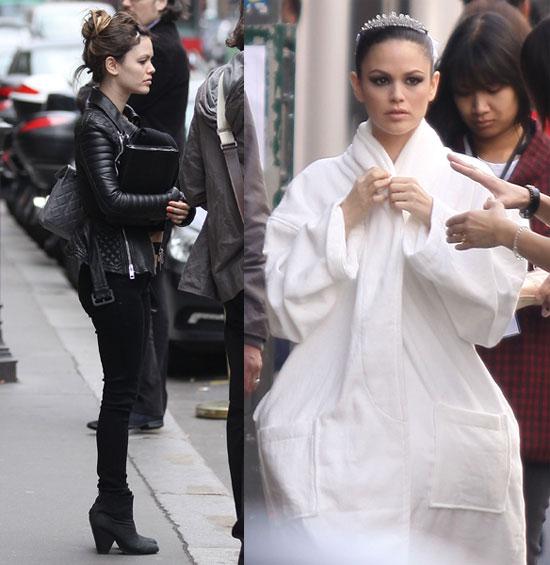 Karl Lagerfeld Directs Rachel Bilson in Black and White