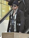 James Franco Hits LA Ready to Work and Bench-Press a Cat