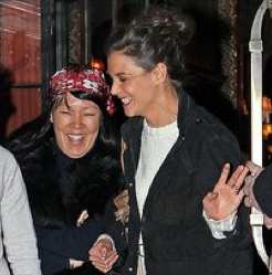 Pictures of Katie Holmes Leaving a Photo Shoot in NYC