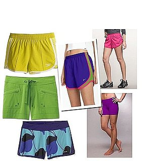 Bright, Colorful Running Shorts