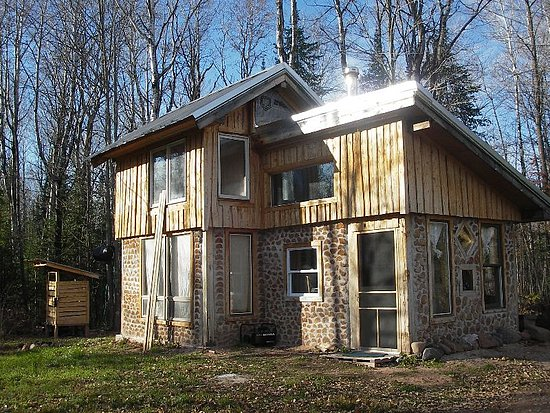 My brother built his own tiny home several years ago using green building principles and DIY ingenuity. You can read about the process here and here.