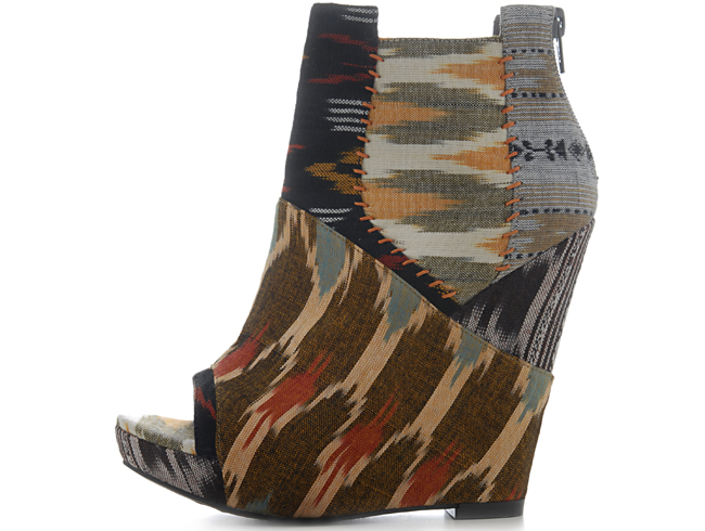 Julian Louie's Tribal Spring 2011 Aldo Wedges Hit Stores and Online Today! Plus, Details on the Fall 2011 Collaboration